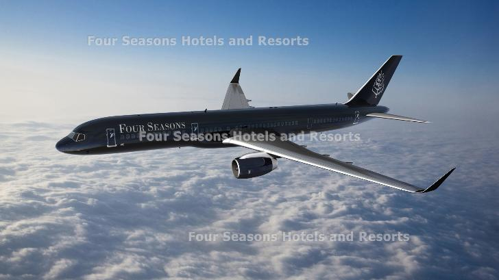 Four Seasons Hotels & Resorts is introducing three new Private Jet itineraries